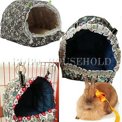 Rat Parrot Rabbit Guinea Pig Squirrel Ferret Hammock Hanging Bed Toy House Cage