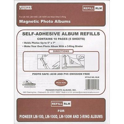 Pioneer Magnetic Photo Album Refill Pages - 243625