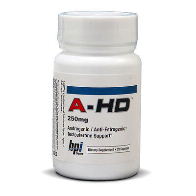 BPI Sports A-HD 250mg Muscle Building Support Workout Supplement (28 Capsules)