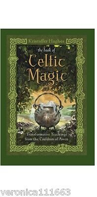 Book of Celtic Magic NEW Teachings from the Cauldron of Awen Kristoffer Hughes