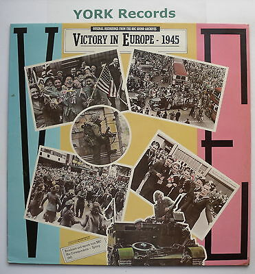 VICTORY IN EUROPE - Broadcasts & Reports - Excellent Con LP Record BBC REC 562