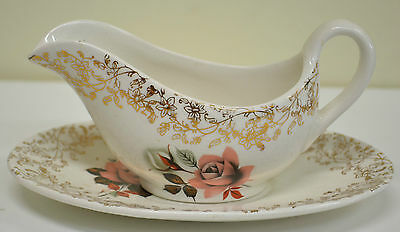 Lord Nelson (E Cotton) Gravy Boat & Saucer, April 1965, Beautiful Item