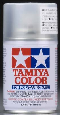 Tamiya Ps-55 Flat Clear Polycarbonate Spray Paint  PS-55