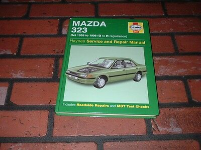 Haynes Manual For Mazda 323.1989 To 1998. G To R Registration