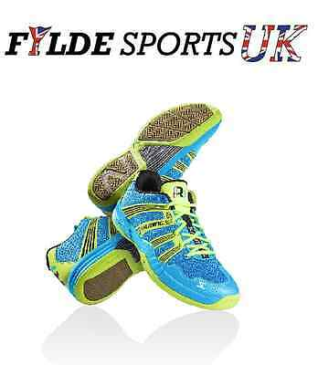 Salming Race R1 2.0 - Blue squash Indoor court mens shoes trainers - CLEARANCE