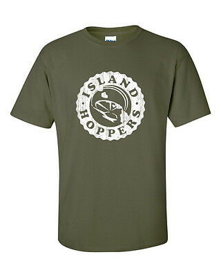 Magnum PI p i TC's Island Hoppers Helicopter T-Shirt