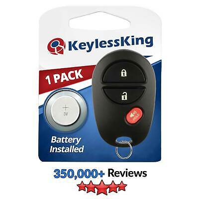 New Replacement Keyless Entry Remote Key Fob Clicker Transmitter for GQ43VT20T