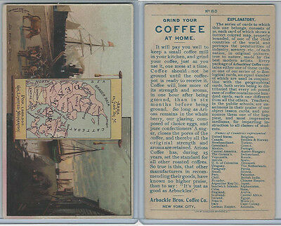 K3 Arbuckle Coffee, Principle Nations of the World, 1890, #88 Denmark