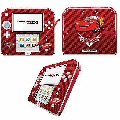 Cars Lightning McQueen Vinyl Skin Sticker for Nintendo 2DS