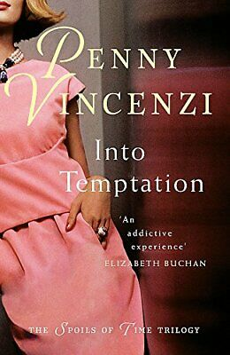 Into Temptation by Vincenzi, Penny Paperback Book The Cheap Fast Free Post