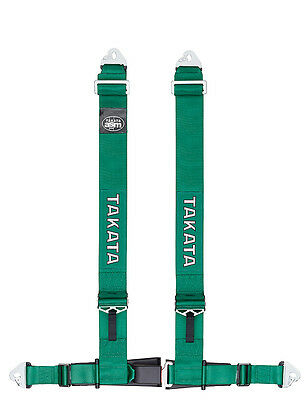 Takata Racing Tuning Harness - Drift III Snap - Green