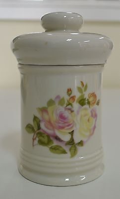 "Small Lidded Pot, ""Belinda"" New Zealand, Beautiful Estate Item (Made in Japan)"