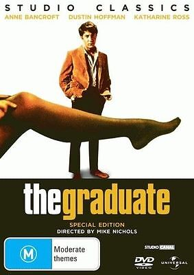 The Graduate * NEW DVD * Anne Bancroft Dustin Hoffman (Region 4 Australia)