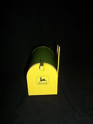 Vintage Toy John Deere Bank and Mailbox