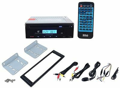 Planet Audio P450 Car Mobile Video DVD Player with USB + Multi Mounting + Remote