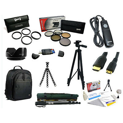Tripods and Filters Advanced Kit For Nikon D3000 D3100