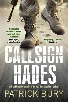 Callsign Hades by Bury, Patrick Paperback Book
