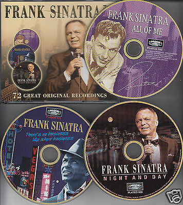 FRANK SINATRA 72 Great Performances 3-Disc SET CD 2003 Night & Day/All of Me+