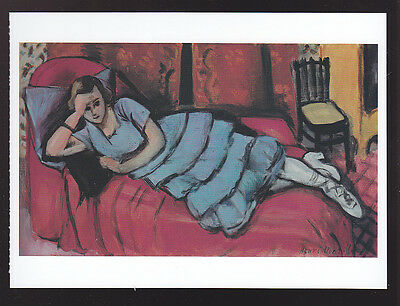 The dragon by henri matisse art postcard for Le canape rouge