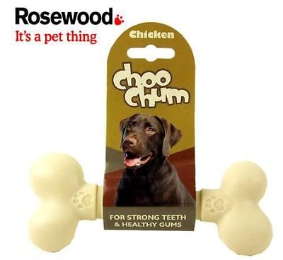 Rosewood nylon dog bone - var sizes, mint, beef , chicken or chocolate chew toy