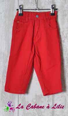 ♥ Jeans Rouge BABY COOL 6 Mois ♥ G807