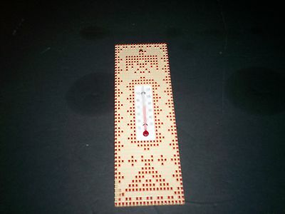 Vintage Wall Thermometer St. Labre Indian School Ashland, Mt
