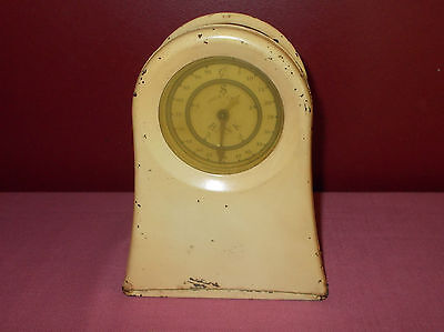 Antique KEENE FOUR COIN METERED Metal Mechanical BANK