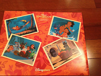 Disney Lilo and Stitch Exclusive Commemorative Lithographs