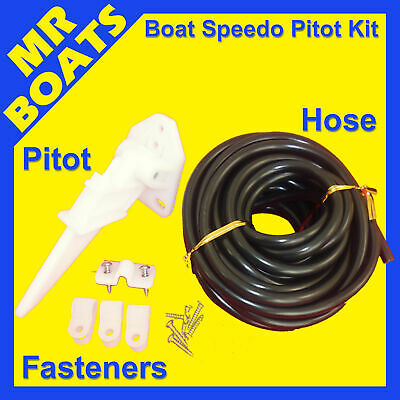 SPEEDO PICKUP UNIVERSAL PITOT TUBE KIT  Pitot 6m Hose Clamps ✱COMPLETE✱FREE POST