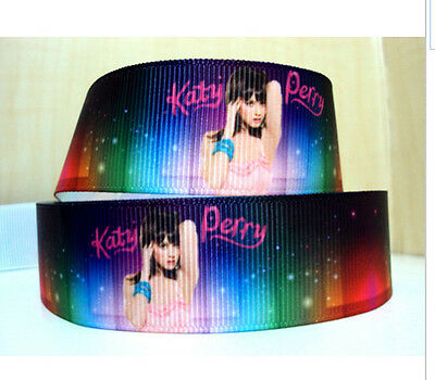 Katy Perry ribbon for cake decorating or scrapbooking 1m