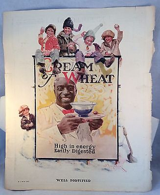 """Advertising Tear Sheets Of Cream Of Wheat & Gold Dust Twins 10 1/2"""" x12"""",10""""x12"""""""