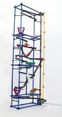 Award Winning Chaos Tower DIY Innovative Rube Goldberg Style Deluxe Building Kit