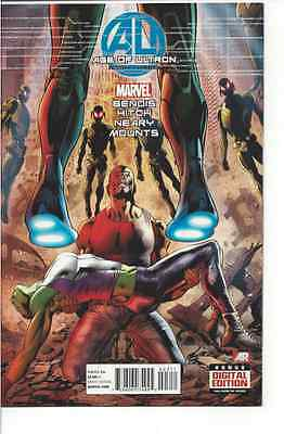 Marvel Comics! Age of Ultron! Book Three!