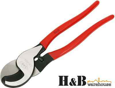 """10"""" Hand Held High Leverage Cable Wire Electrical Cutter Plier Up To 60mm² T0045"""