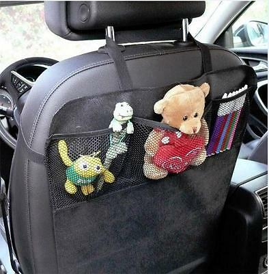 Travelling Car Interior Seat Organiser Storage Tidy Multi Pockets Bags (OF1)