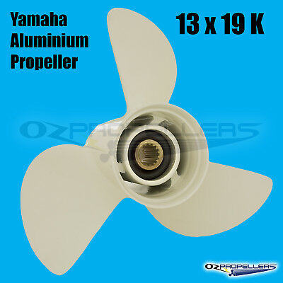 PROP PROPELLER NEW ALLOY TO SUIT YAMAHA 50-140HP ENGINES Size 13 x 19