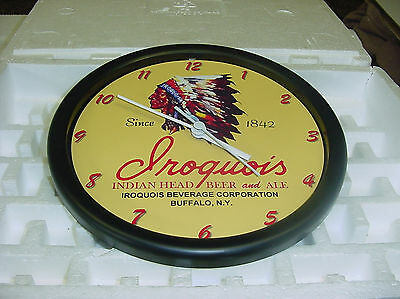 Iroquois Beer Wall Clock -