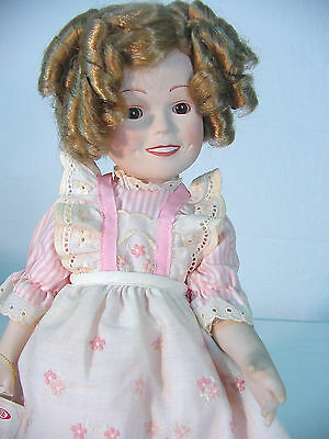 SHIRLEY TEMPLE Porcelain DOLL~ Vintage 1982~ AMERICAN SWEETHEART~~ IDEAL~ MIB~