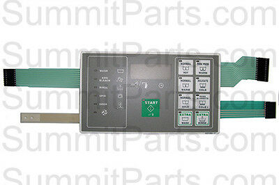Touchpad Keypad For Huebsch Washer - F0231582-17P