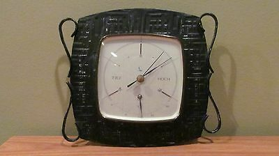 VINTAGE LUFFT TIEF HOCH WALL THERMOMETER BAROMETER  GERMANY
