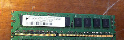 Micron 1GB PC3-8500 DDR3-1066MHz Unbuffered Server RAM P/N MT9JSF12872AZ-1G1D1