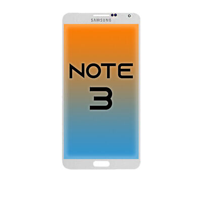 OEM Samsung Galaxy Note 3 LCD + Touch Screen Display Assembly Replacement White