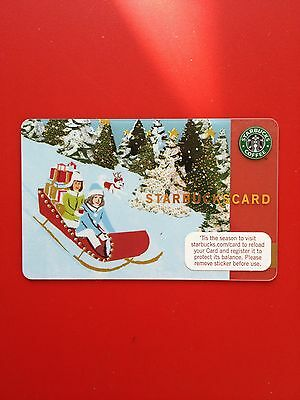 Starbucks Card Rush Delivery Christmas 2007 - Used