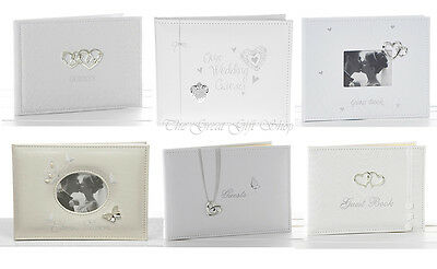 Beautiful Wedding Day Guest Books Keepsake Gift Various Designs to Choose From