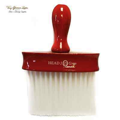 Red Lacquer Wood Neck Brush, Head Jog 199  Professional Soft Bristle, Salon Use