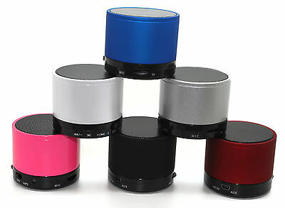New Bluetooth Wireless Mini Portable Speakers For Iphone Ipad Mp3 Rechargeable