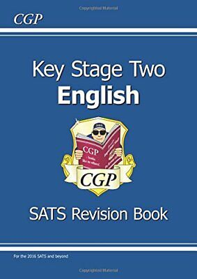 Key Stage 2 English The Study Book, CGP Books Paperback Book The Cheap Fast Free