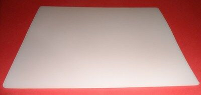 Teflon sheets - 214mm x 300mm x  4mm CHEMICAL RESISTANT AND HEAT FREE POST