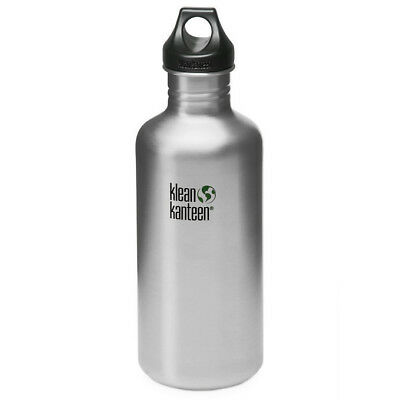Klean Kanteen Classic 1182ml Bottle Loop Cap Travel Hydration Flask Stainless