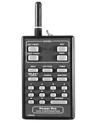 NCE 524-017 DCC Cab 05r Handheld Throttle - Radio Equipped